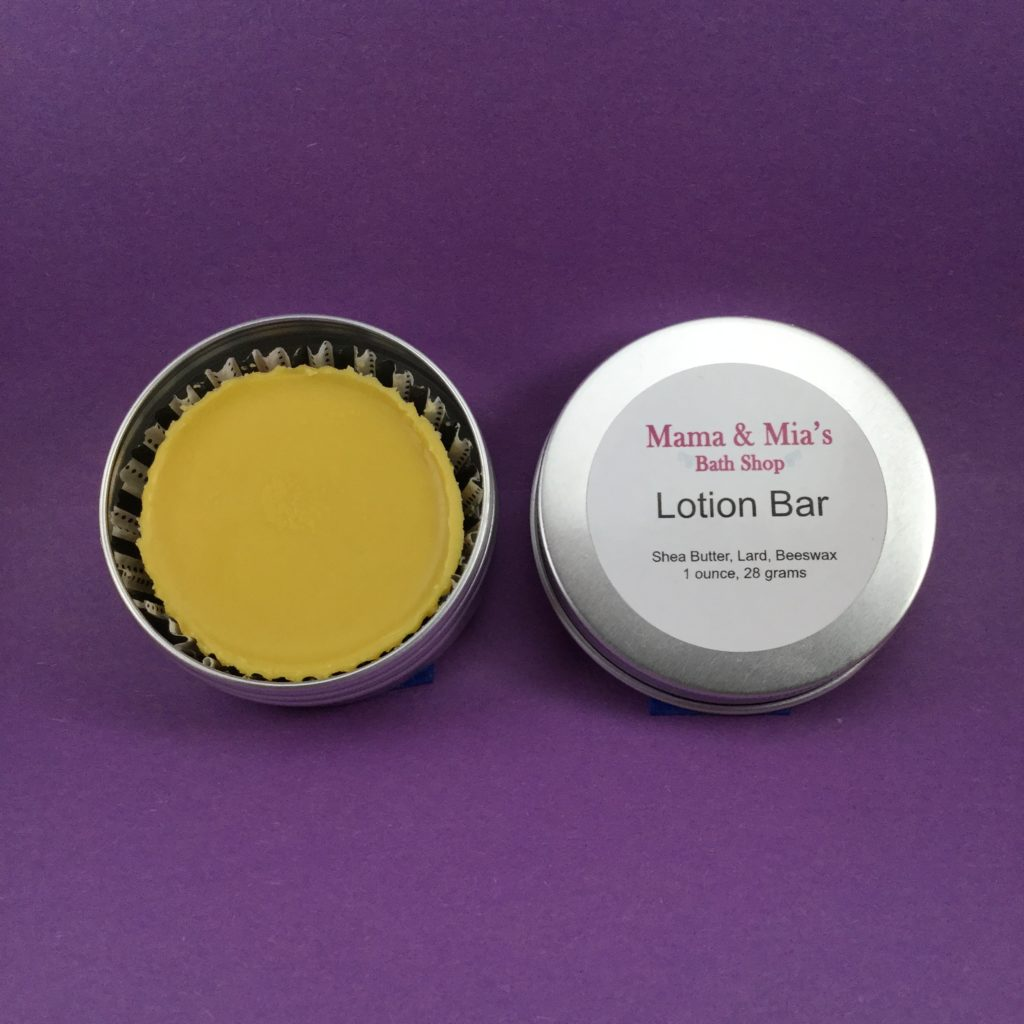 Natural Lotion Bars