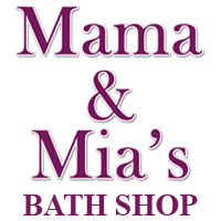 What is natural soap? Mama and Mia's Bath Shop Logo